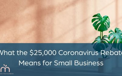 What the $25,000 Coronavirus Rebate Means for Small Business