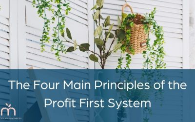 The Four Main Principles of the Profit First System