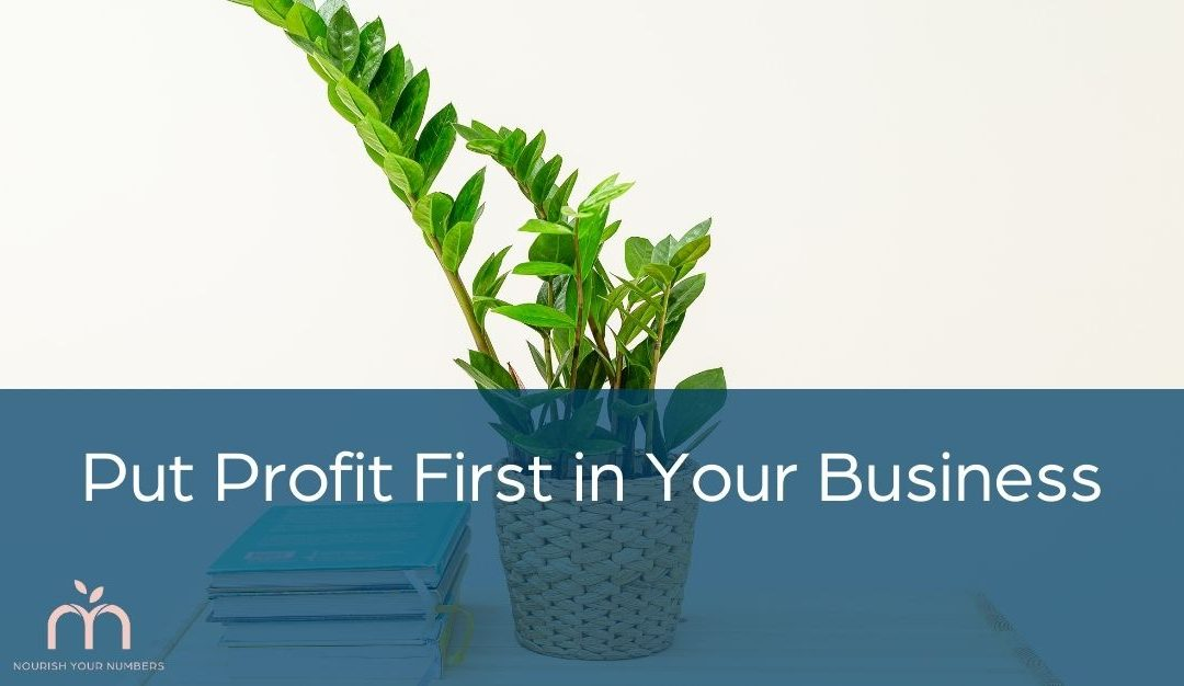 Put Profit First in Your Business